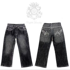 ENGLISH LAUNDRY- Slim Straight- Boys jeans- size 5